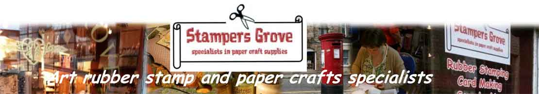 PaperArtsy Scrapcosy ESC09 A5 Rubber Stamp Set - Stampers Grove your Edinburgh Art Rubber Stamp and Papercraft Specialist