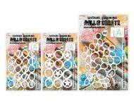 Abs Stencil Bundle 2 x A6, 1 x A5 - 3 Stencils - A6: 101,102, A5:103