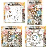Aall and Create Stencil Bundle (58, 10, 28, 81)