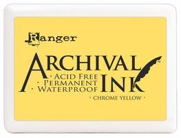 Chrome Yellow Jumbo Archival Pad