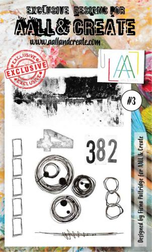 No. 3 Aall and Create Stamp Set (A6)