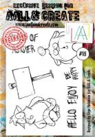 No. 18 Aall and Create Stamp Set (A6)