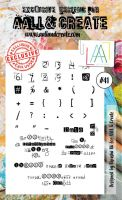 No. 41 Aall and Create Stamp Set (A6)