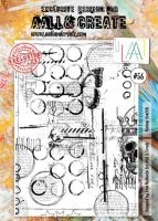 No. 56 Aall and Create A4 Stamp Set by Olga Heldwein