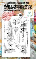 No. 59 Musical Gears Aall and Create Stamp Set (A6)