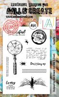 No. 64 Curiosity Aall and Create Stamp Set (A6)