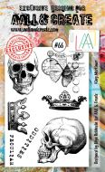 No. 66 King Mortimer Aall and Create Stamp Set (A6)