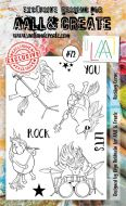 No. 72 Rocking Corus Aall and Create Stamp Set (A6)