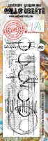 No. 80 Lined Aall and Create Border Stamp Set