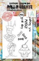 No. 106 Madhatter Aall and Create A7 Stamp Set by Olga Heldwein