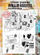 No. 113 Eclectic Silhouette Aall and Create Stamp Set (A4)
