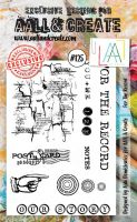 No. 125 For the Record Aall and Create Stamp Set (A6)