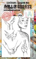 No. 128 Hands that Hold Aall and Create Stamp Set (A6)