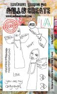 No. 131 Arty Angels Aall and Create Stamp Set (A6)