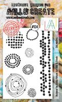 No. 134 Dot Matrix Aall and Create Stamp Set (A6)