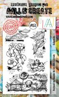 No. 153 Botanicals Aall and Create Stamp Set (A6)