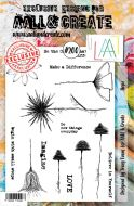 No. 200 Hope Aall and Create Stamp Set (A5) - AAL00200