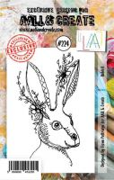 No. 224 Rabbit Aall and Create Stamp Set (A7) - AAL00224