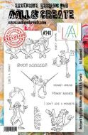 No. 241 Go Bananas Aall and Create Stamp Set (A5) - AAL00241