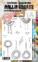 No. 244 Flower Heads Aall and Create Stamp Set (A6) - AAL00244