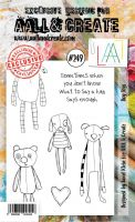 No. 249 Dog Toys Aall and Create Stamp Set (A6) - AAL00249