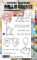 No. 250 Lift me Up Aall and Create Stamp Set (A6) - AAL00250