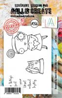 No. 256 Cat Love Aall and Create Stamp Set (A7) - AAL00256