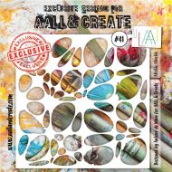 Mickle Muckle - No. 41 Aall and Create Stencil - 6 in by 6 in (15cm by 15cm)