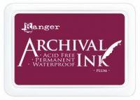 Plum Archival Pad