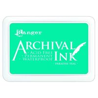 Paradise Teal Archival Pad