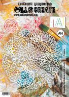 No. 84 Profusion Stencil (A4) by Olga Heldwein for Aall and Create