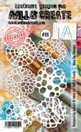 No. 88 Ring The Changes Stencil (A6) by Autour De Mwa for Aall and Create