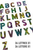 Alphabet set 26 cling rubber stamps 5cm by 7cm by Carabelle Studio