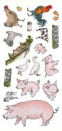 CS153D Hobby Art Stamps - Animals