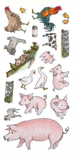CS153D Hobby Art Stamps - Animals