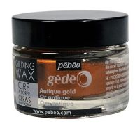 Antique Gold Gilding Wax (UK ONLY) by Pebeo Gedeo (30ml)