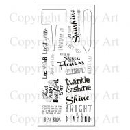 Brighten Your Day Hobby Art Clear Stamp Set (CS094D)
