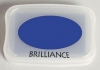 Brilliance Pigment Ink Pad - Mediterranean Blue
