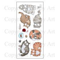Catz Hobby Art Clear Stamp Set