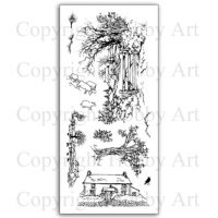 Country Gate Hobby Art Clear Stamp Set