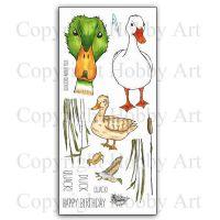 CS159D Hobby Art Stamps Quackers