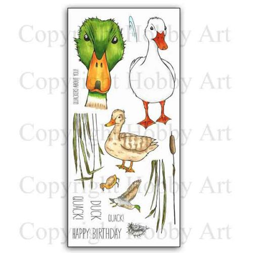 CS159D Hobby Art Stamps Quackers
