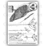 CS160D Oliver Owl Hobby Art Stamps