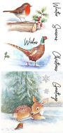 CS188D Hobby Art Stamps - A Winter's Day