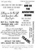 CS194D - Hobby Art Stamps - Inspirational Quotes
