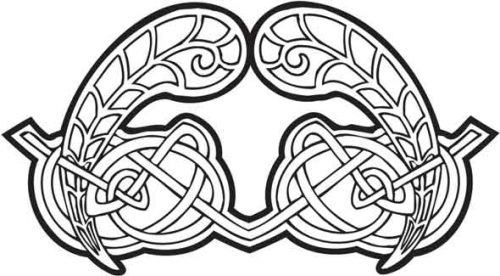 Crafty Stamps - Celtic - CT112EI