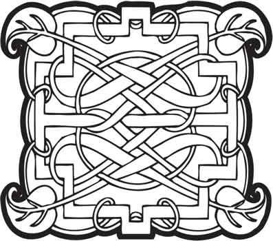 Crafty Stamps - Celtic - CT124F