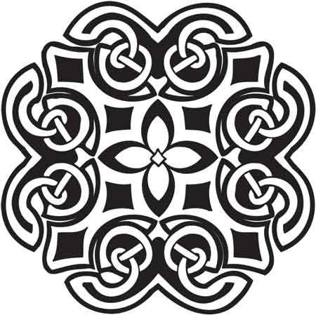 Crafty Stamps - Celtic - CT147Q