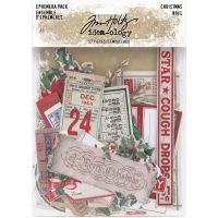 Christmas Idea-Ology Ephemera Pack 57/Pkg (TH94086)