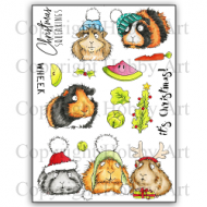 Christmas Squeakings A5 Clear Stamp Stamp Set by Hobby Art (CS279D)